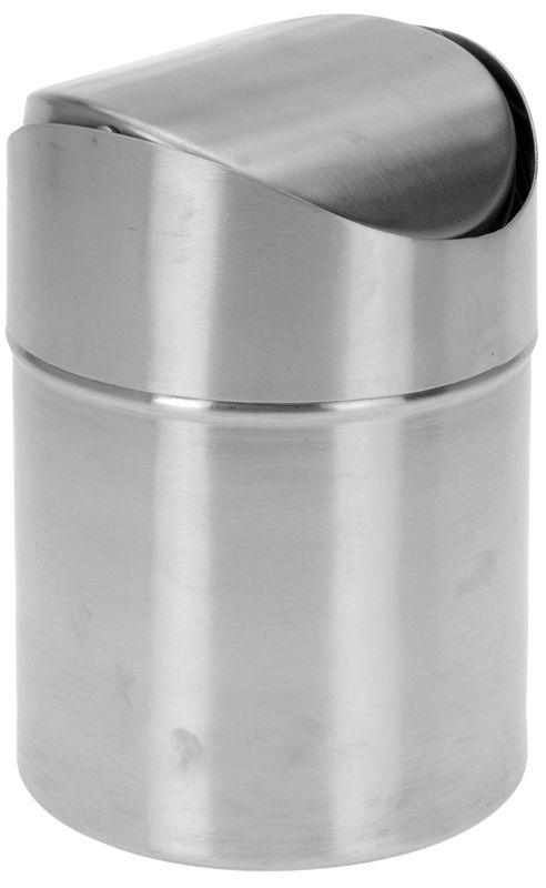 Design tafel prullenbak 1.5 liter - RVS